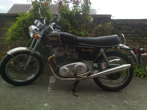Geoff's 750 Commando