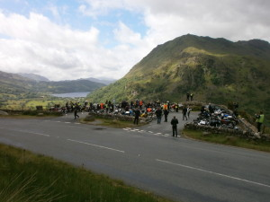 Slate Rally ride out, Snowdonia June 2015