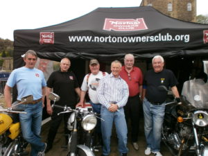 Yorkshire Branch members supporting the fund raising event.