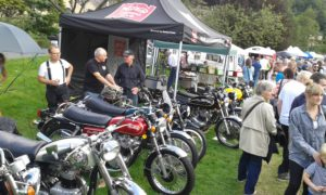 10 Norton's were on display at the branch stand