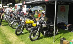 The weather was good on the day and the event was very well attended no doubt raising a lot of money fro charity